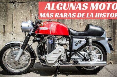 Algunas de las motos más raras de la historia