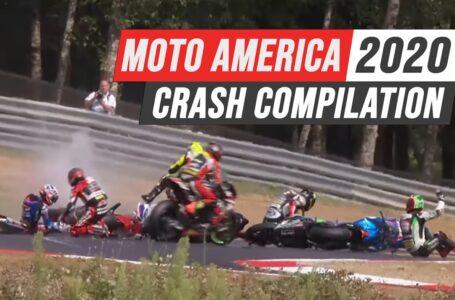 Moto America 2020 Crash Compilation