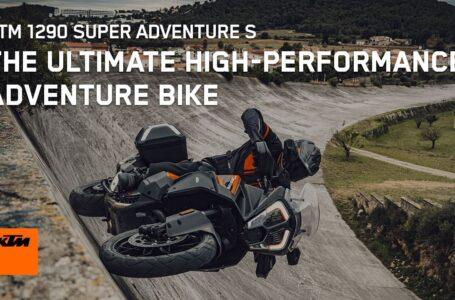 Conoce la moto de aventura de alto rendimiento definitiva, la KTM 1290 SUPER ADVENTURE S 2021 | KTM