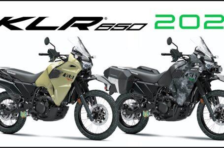 2021-2022 new Kawasaki KLR650 ABS, Traveler & Adventure first photos