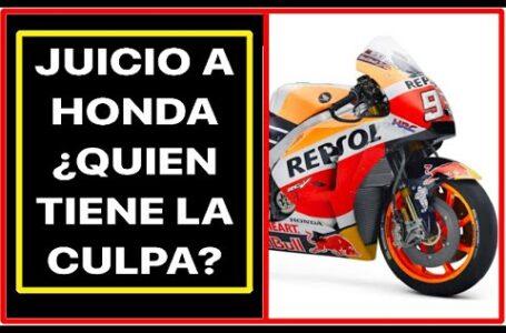 Honda, del Cielo al Infierno por la Lesion de Marquez. ¿Quien ha sido el culpable de esta situacion?