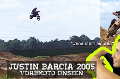 Vídeo inédito de Justin Barcia entrenando fuerte con la 85cc en 2005