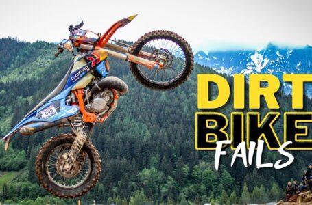 Dirt Bike Fails Compilación # 4   Choques y momentos divertidos   Como no montar