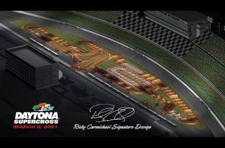 Mapa animado del Supercross de DAYTONA 2021