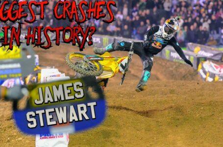 Algunas de las grandes caídas de James Stewart