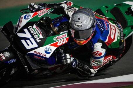 Alex MARQUEZ se LESIONA en MOTOGP Qatar 2021