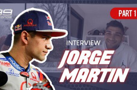 ENTREVISTA A JORGE MARTÍN – JORGE LORENZO – 99SECONDS
