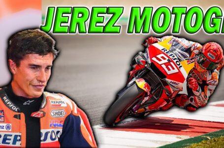 Marc MARQUEZ NO ha PODIDO SUBIRSE a una MOTO desde Portimao MOTOGP