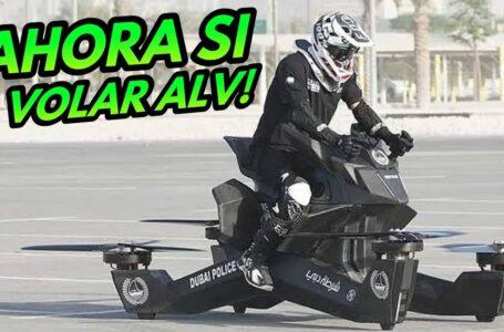 Moto Voladora… Ya es una Realidad, Precio, Top Speed… Policía de Dubai