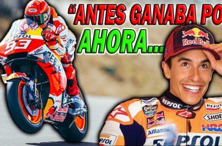 Marc MARQUEZ: «Antes SIEMPRE ME GANABA Pol ESPARGARO, AHORA…» MotoGP