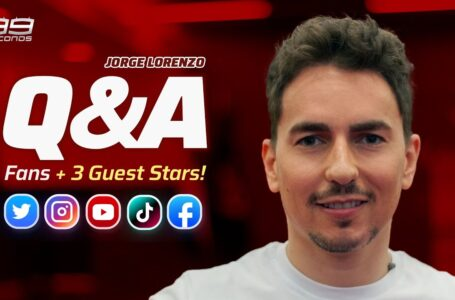 Q&A ▶️ | Respondiendo a Fans y a 3 Súper Estrellas Invitadas 😱✨ [Jorge Lorenzo] #99seconds