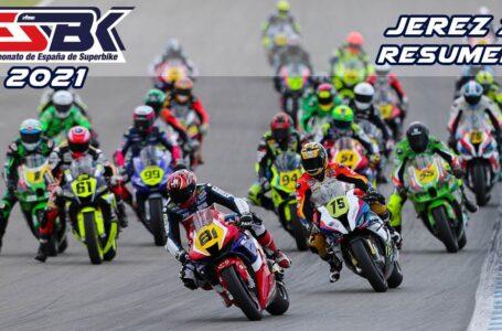 ESBK Jerez I 2021: Resumen de carrera