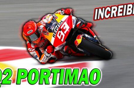 Marc MARQUEZ Nos hace SOÑAR pasando a la Q2 en PORTIMAO MotoGP