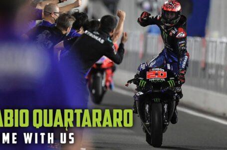 Ven con nosotros – Fabio Quartararo – Episodio 6