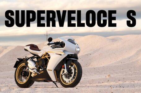 Introducción de las MV Agusta Superveloce