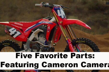 Las cinco piezas favoritas de la Honda de Hunter Lawrence