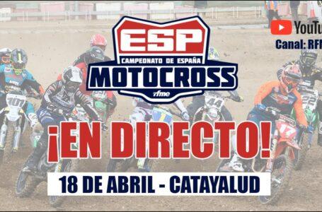 Campeonato de España de Motocross. Calatayud ¡EN DIRECTO!