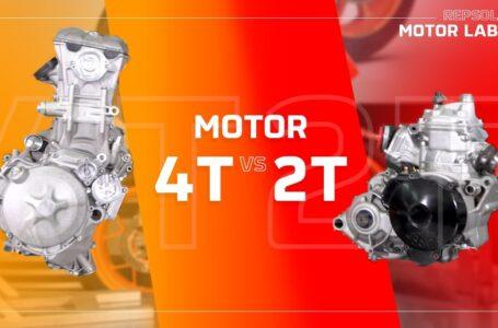 Diferencias entre un motor de 2 tiempos y uno de 4 tiempos