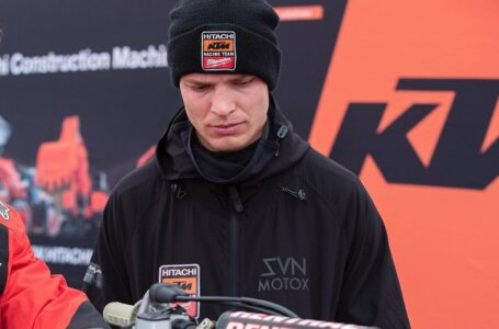 Bas Vaessen sufrió una grave lesión en la espalda