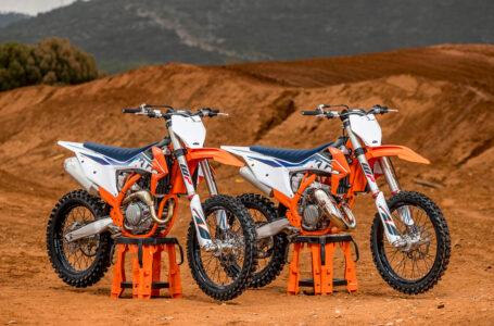 BAJA LA VALLA DE SALIDA: LLEGA LA NUEVA GAMA DE MOTOCROSS KTM 2022