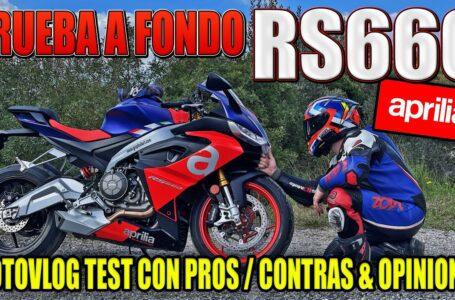 PRUEBA A FONDO APRILIA RS660 DEPORTIVA APTA PARA CARNET A2