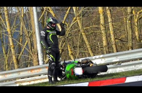Recopilación de incidentes con las motos en Nürburgring