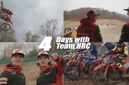 4 Días con el Team HRC de MXGP