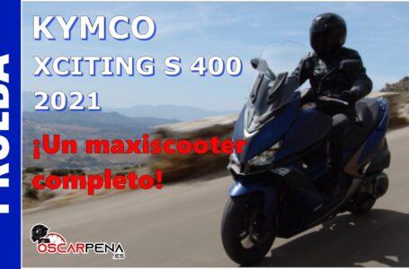 KYMCO XCITING S 400 2021. Prueba. ¡Un maxiscooter completo!