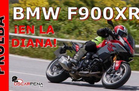 BMW F900XR 2021. Prueba. ¡En la diana!