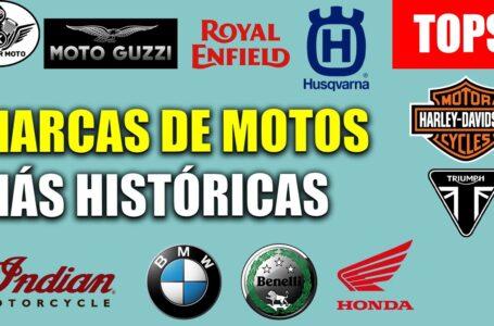 TOP 5: Marcas más históricas de MOTOS