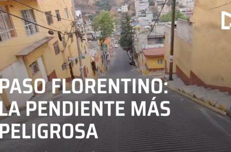 Paso Florentino la pendiente más peligrosa