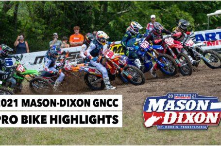 2021 Mason Dixon GNCC Pro Bike Highlights