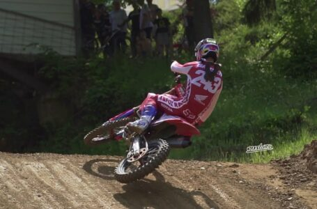 Tim Gajser gana en el Esloveno