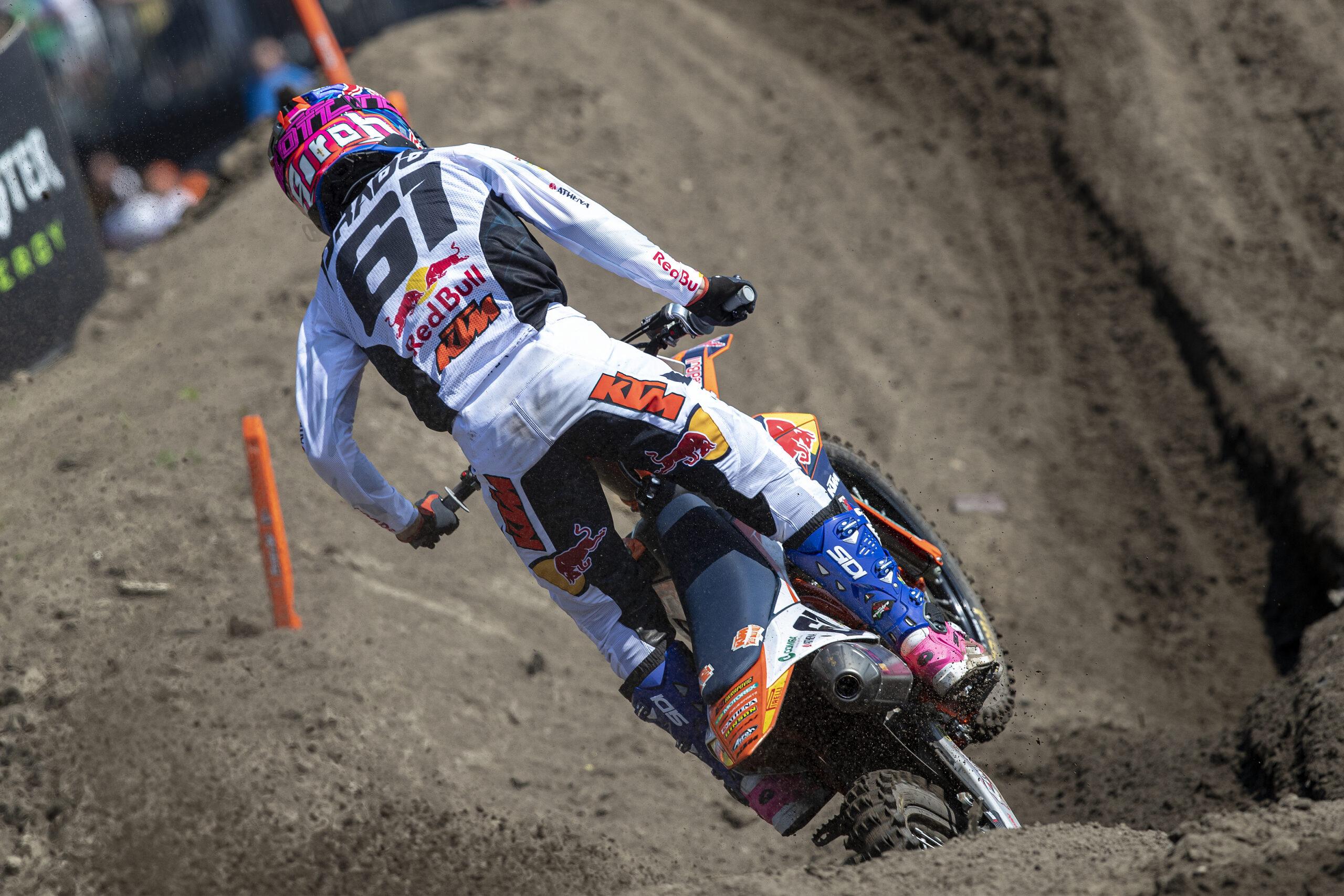 Problemas de respiración complicaron la carrera de Jorge Prado hoy en Oss