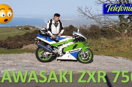 KAWASAKI ZXR 750 telefónica. El sueño de mi infancia