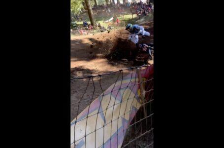 Vídeo de la gran caída de Justin Cooper en Washougal ayer