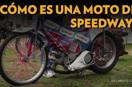 Cómo es una moto de Speedway