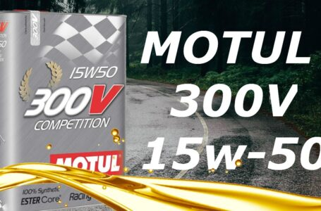 Aceite Motor Motul 300v 15w50 [COMPETITION] – Review