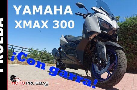 Yamaha XMAX 300 2021. Prueba. ADN deportivo… ¡Y polivalente!