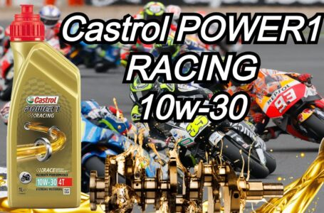 Aceite MOTOR 4T Castrol POWER1 RACING 10w30  – Review