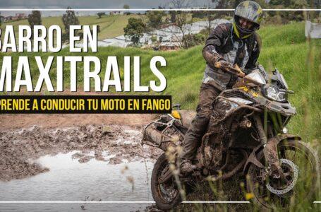 CÓMO MANEJAR UNA MOTO MAXITRAIL EN BARRO – Conducir moto en lodo o fango