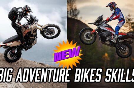 Habilidades de motos de aventura – Nueva recopilación – Honda Africa Twin – KTM 990 Adv – Yamaha Tenere – BMW GS