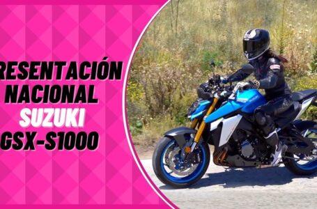 Presentación Nacional SUZUKI GSX S1000: Cambio Radical 🙆♀️