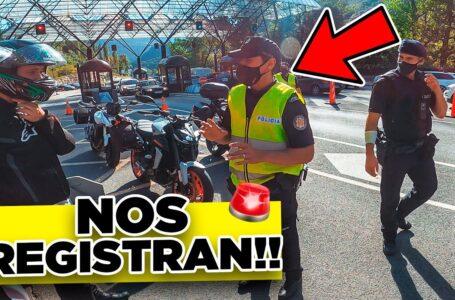 👮Nos PARAN🚨 en la FRONTERA con ANDORRA!!! Nos registran TODO! De viaje con la Tracer 9 GT Parte 2!!!