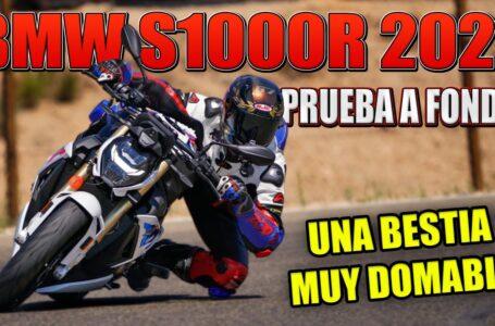 PRUEBA A FONDO BMW S1000R 2021 – TEST DE LA NAKED DEFINITIVA DE BMW MOTORRAD CON PROS Y CONTRAS