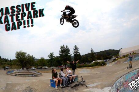 ¡MOTOS DE CROSS EN SKATEPARKS! Oregón y Big Hill Jam