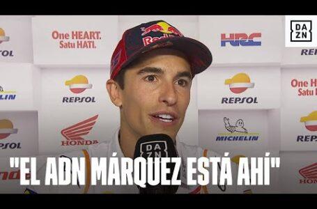 Marc Márquez: «El ADN Márquez está ahí. A la mínima que vea la posibilidad lo voy a probar»