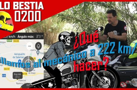 😡PILLAMOS AL MECÁNICO A 222 KM/H #DESTERRADO 🚫 [A LO BESTIA 199] ¿Qué hacer? ¿burradas con tu moto?