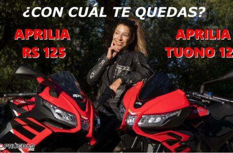 Aprilia RS 125 y Tuono 125 2021. Prueba. ¿Con cuál te quedas?