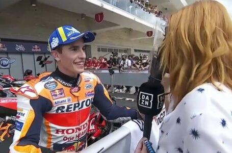 Marc Márquez, primera fila en MotoGP 441 días después: ¡Hasta había olvidado el protocolo!